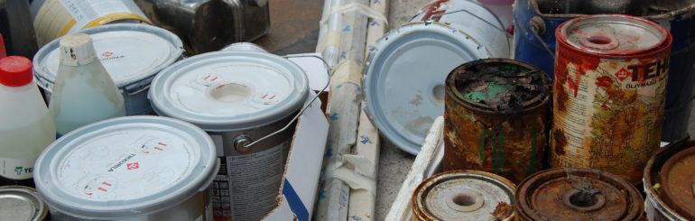 Vaarallinen jäte, kotitaloudet